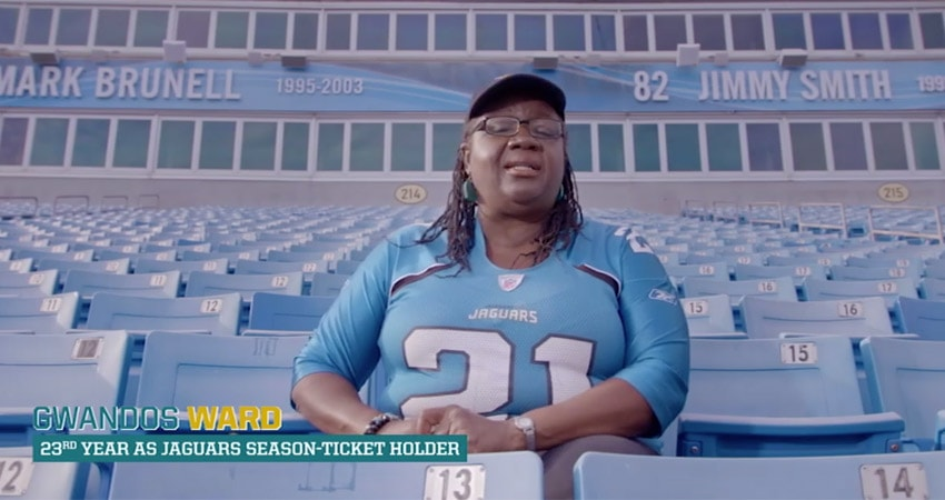 Gwandos Ward 23rd year as Jaguar season-ticket holder