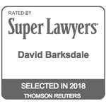 Super Lawyers - David Barksdale