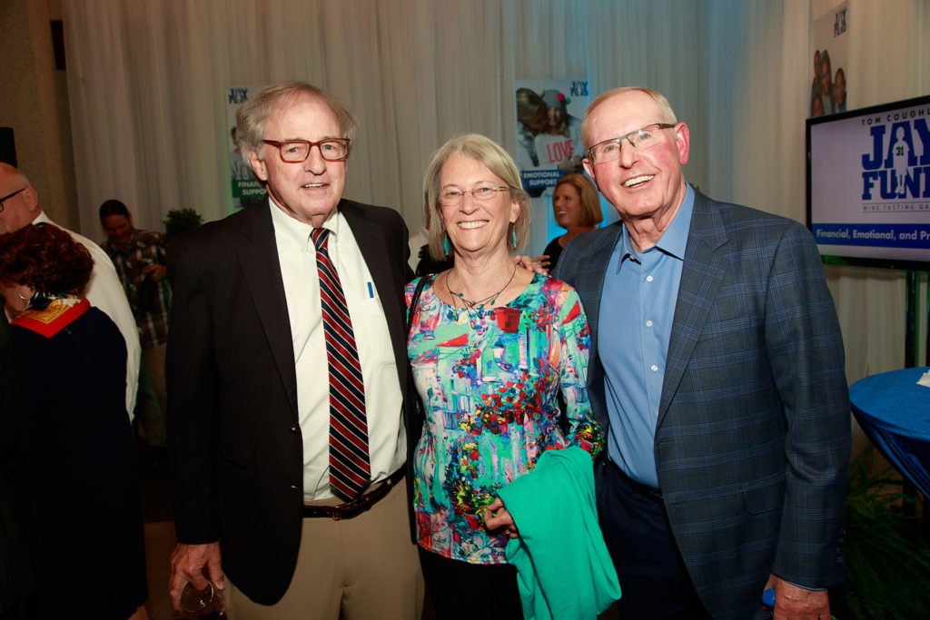 Tom Coughlin and Hank Coxe at Wine Gala