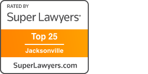 super lawyers badge for r.h. farnell, ii top 25 jacksonville