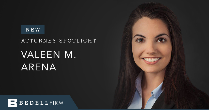 Bedell Firm Attorney Valeen M. Arena is the firm's newest attorney